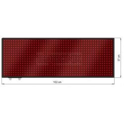 Wyśw. tekstowy LED 102 x 37 cm