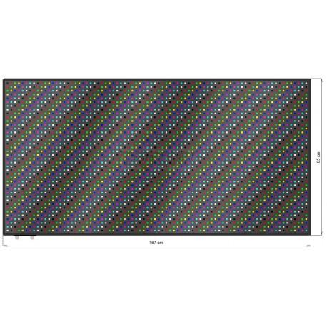 Wyśw. graficz. LED 167 x 85 cm