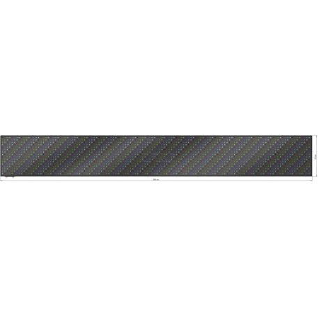 Wyśw. graficz. LED 393 x 52 cm