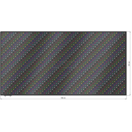 Wyśw. graficz. LED 198 x 101 cm