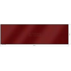 Wyśw. graficz. LED 232 x 69 cm