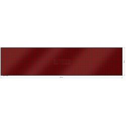Wyśw. graficz. LED 297 x 69 cm